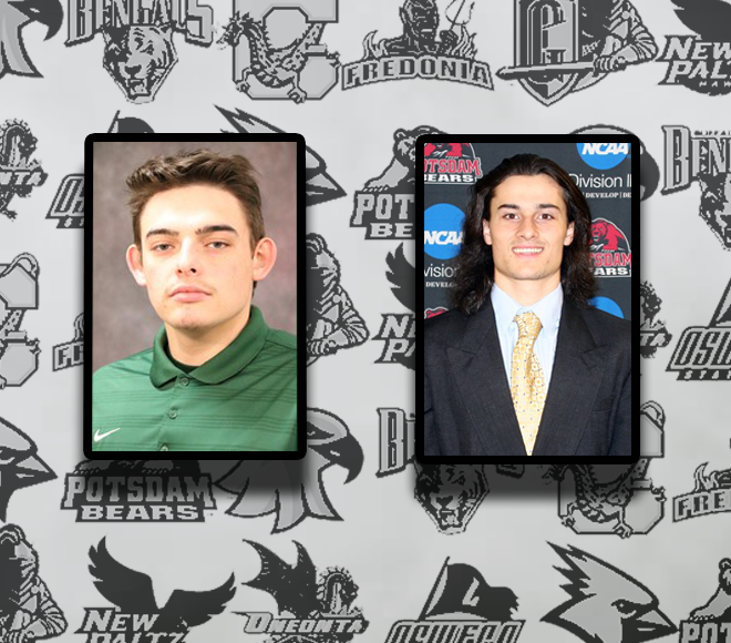 Huiatt and Meyers selected as Men's Lacrosse Athlete and Goalie of the Week