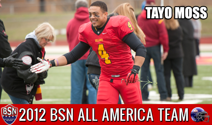 Ferris State's Tayo Moss Claims All-America Honors