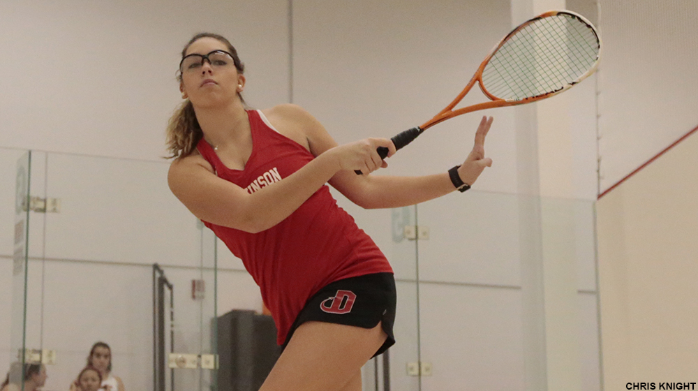 Women's Squash Posts Back-to-Back 9-0 Wins
