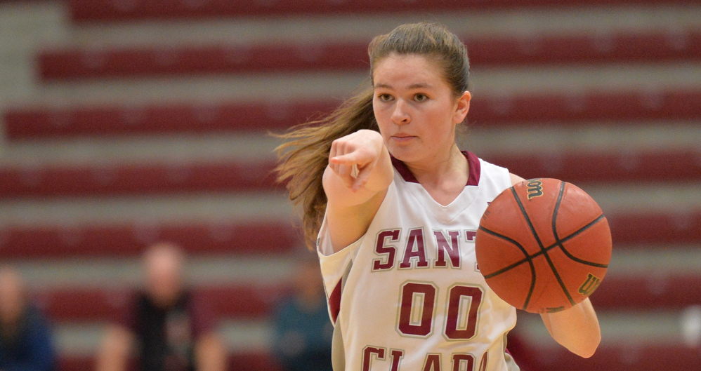 Second Half Sinks Women's Basketball vs. San Diego on Alumni Day