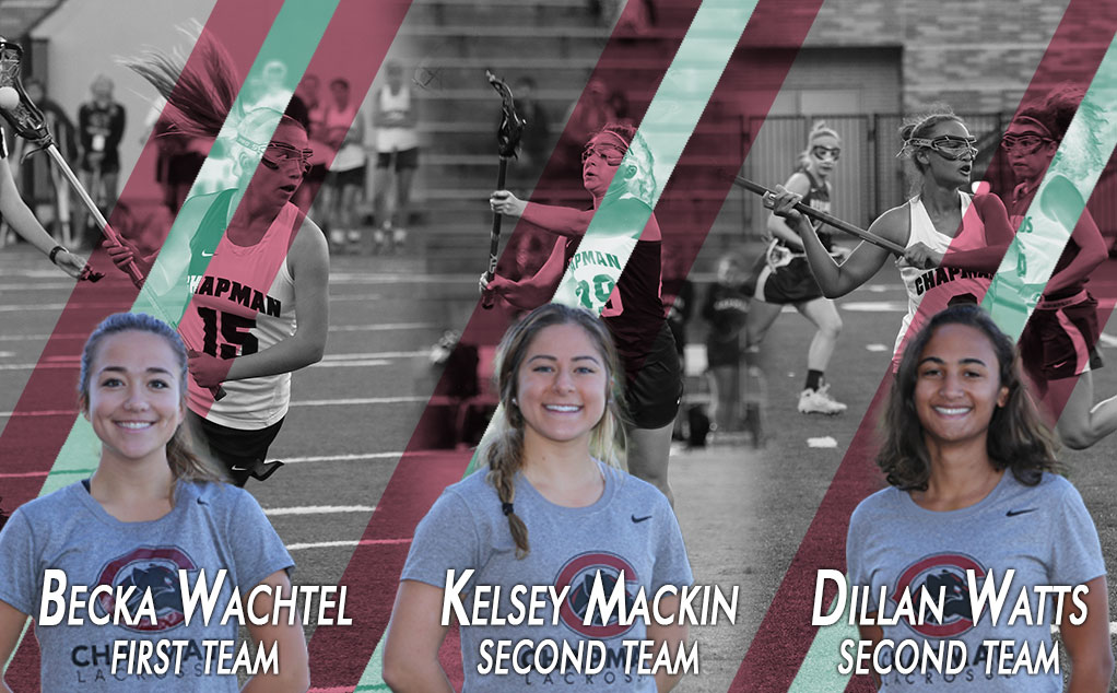 Wachtel, Mackin, Watts selected to IWLCA All-Region team