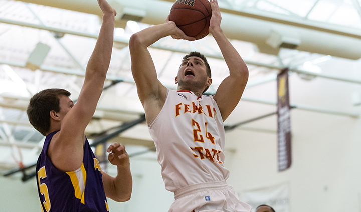 PREVIEW: Ferris State Men's Basketball Takes On Golden Eagles Saturday