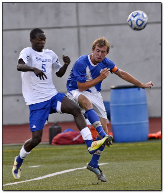 Lions' men's soccer team clipped by Thomas More College, 2-1