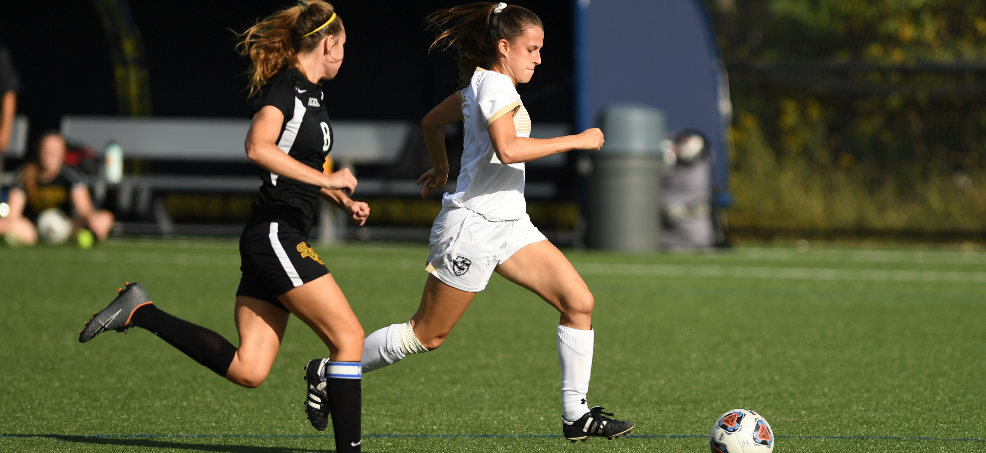 Meadow Walshaw-Wertz bagged her first career brace to help Juniata cruise past St. Vincent.