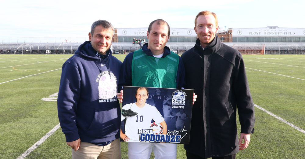 Men's Soccer Concludes Successful First Season Under Cusu Celebrating Senior Day Against Old Westbury