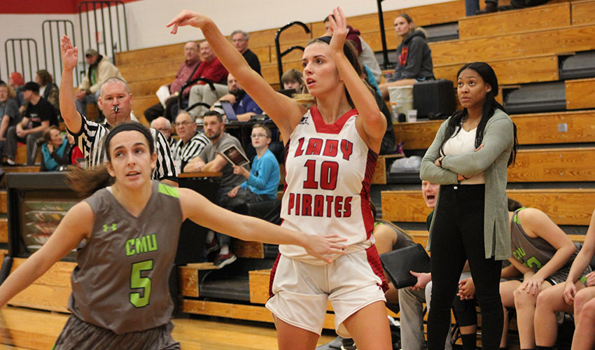 Solid Second Half Pushes Lady Pirates To Victory
