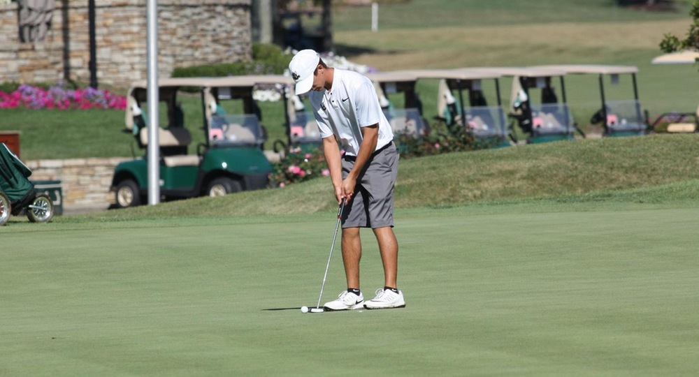 Men's Golf in Second Place After Opening Round of Horizon League Championship
