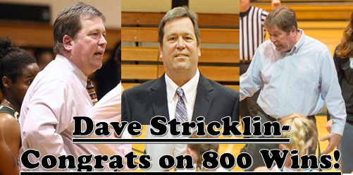 Stricklin Gets Win Number 800!