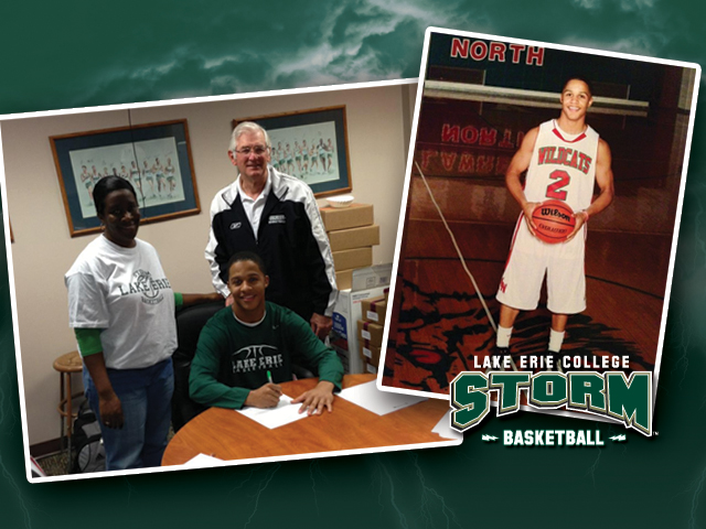 Lawrence North's Sean Howard became the first member of the Storm's 2013 recruiting class when he signed a letter of intent on Nov. 14.