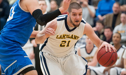 The NACC's all-time leading scorer, Lakeland's Jake Schwarz.