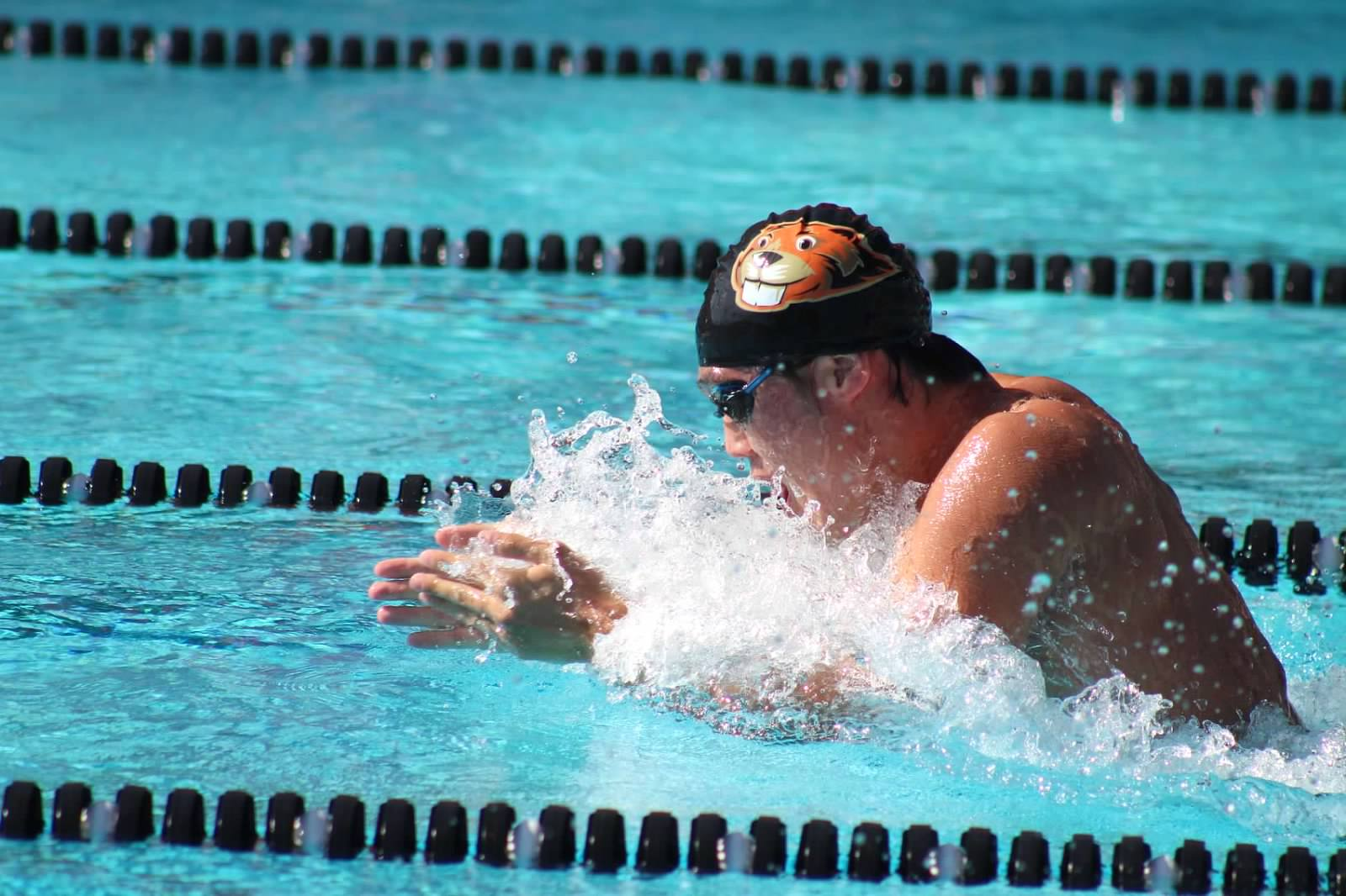 Several Men's Swimmers Named to All-SCIAC, Hughes Men's Coach of the Year