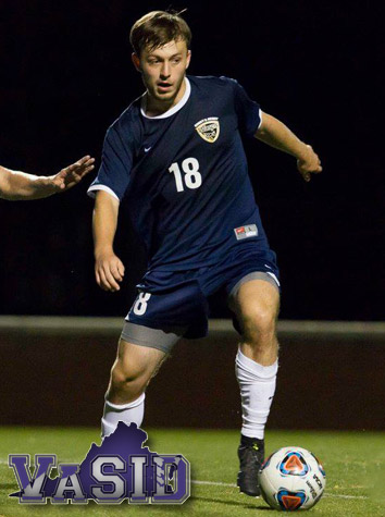 Emory & Henry's Jordan Couch Named To The VaSID College Division Men's Soccer First Team