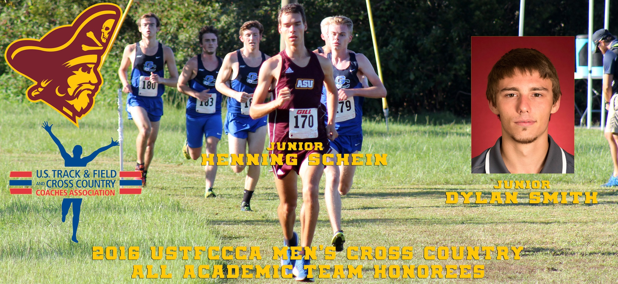 Armstrong State Men's Cross Country Earns USTFCCCA Academic Honors
