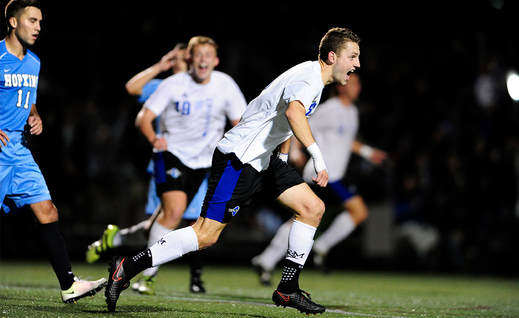 Wild, No. 6 F&M Downs Hopkins with Last-Minute Tally