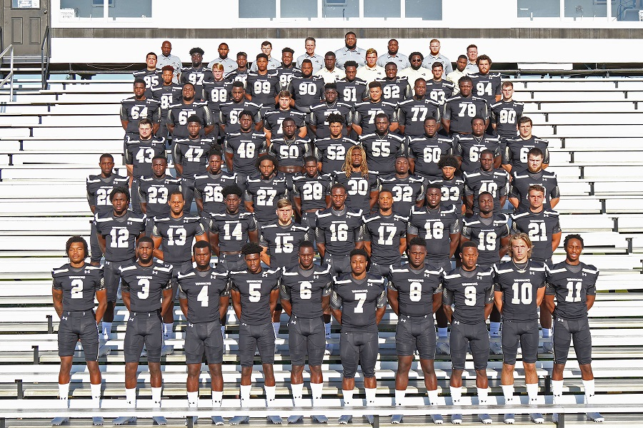 2019 East Central Community College Football Team     photo:  ECCC athletics