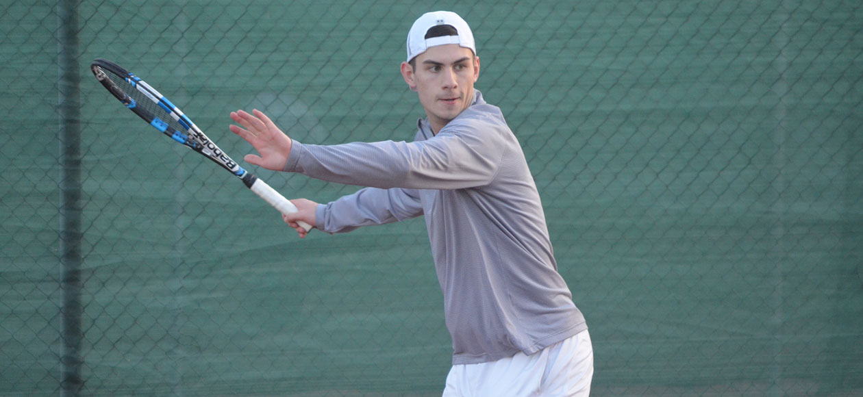 Men's Tennis Blanks Transylvania For Fifth-Straight Victory