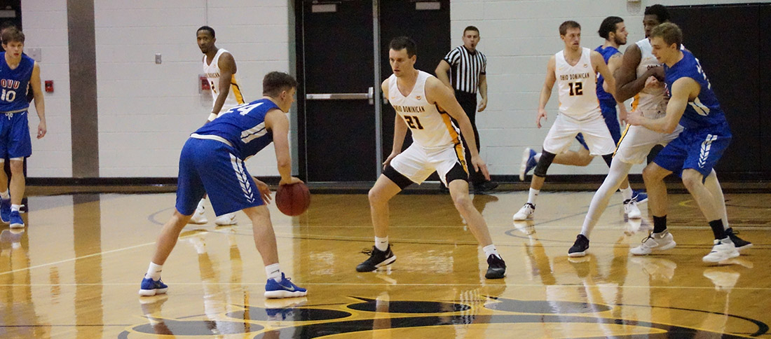 Home Games Against Hillsdale, Lake Erie On Deck For Men's Basketball