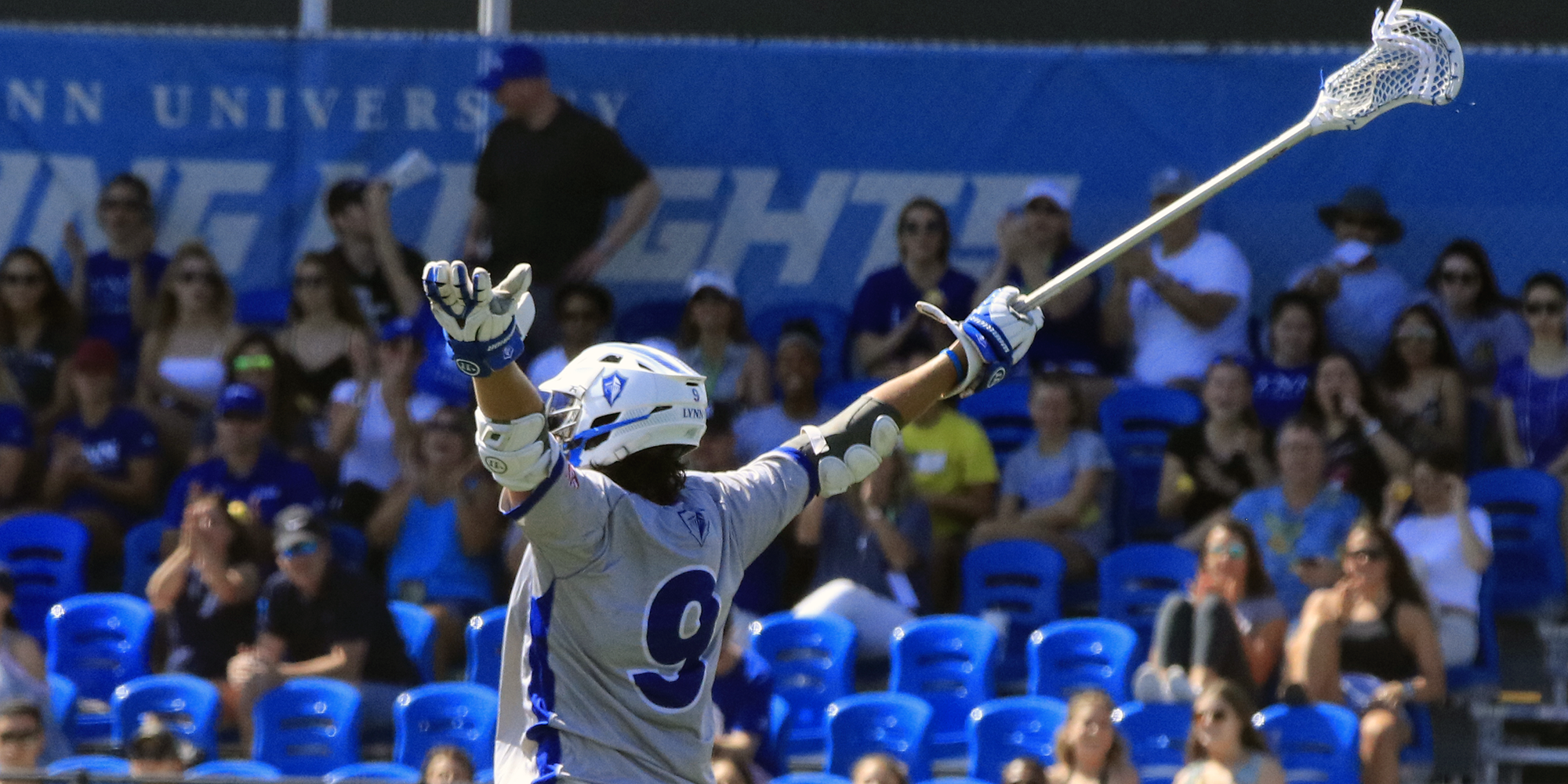 Men's Lacrosse Opens 2019 Campaign with Statement Victory over No. 7 NYIT