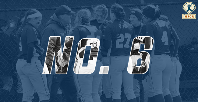 The Moravian College softball team is ranked No. 6 in Latest NFCA Division III Top 25 Poll.