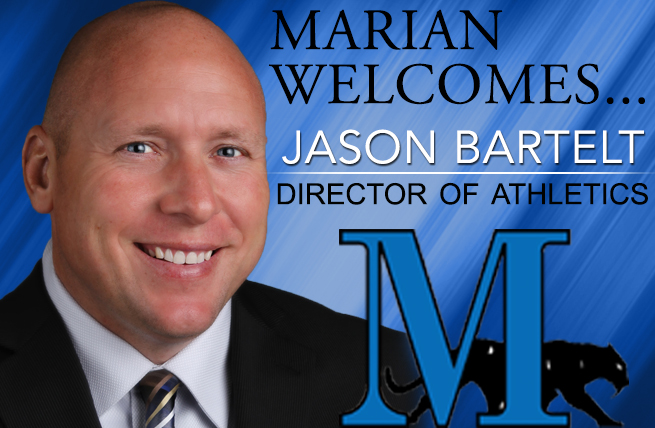 Jason Bartelt Accepts New Role as Marian's Director of Athletics