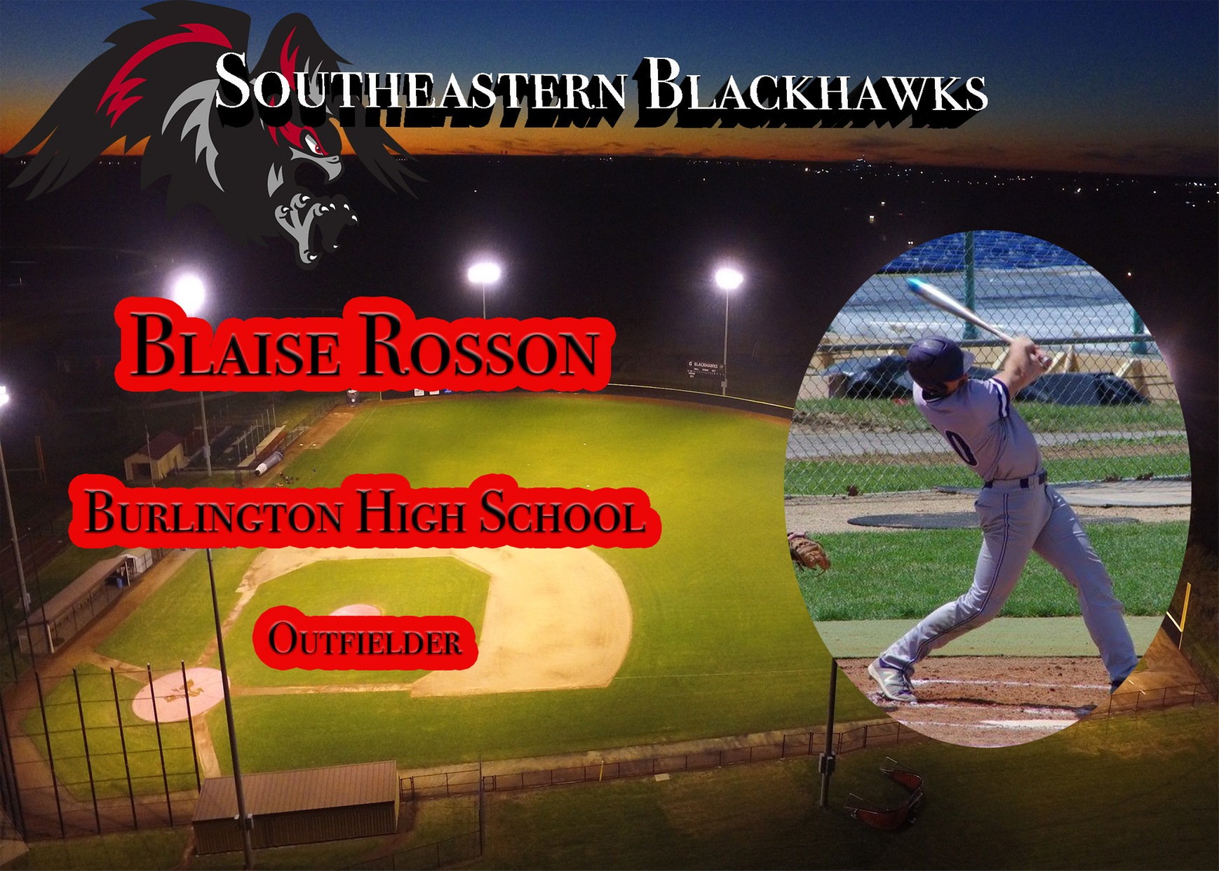 Rosson to Commit to SCC Baseball