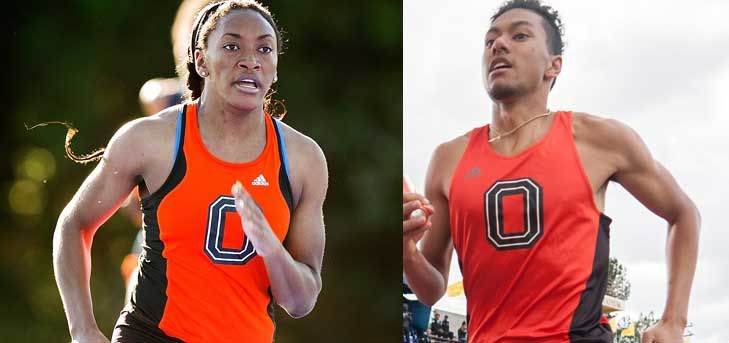 Nwabueze, Wong Post Solid Times at Oxy Spring Classic
