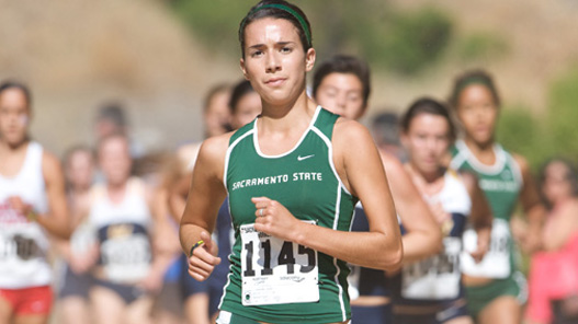WOMEN'S CROSS COUNTRY FALLS JUST SHORT AT NEVADA CHASE RACE