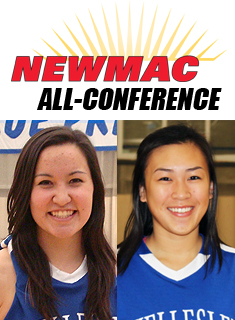 Maier and Leong Named NEWMAC All-Conference