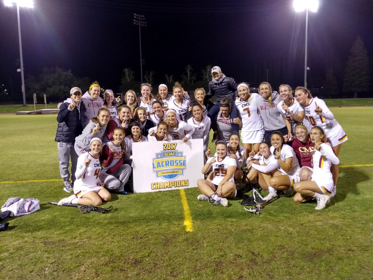Claremont-Mudd-Scripps Wins Women's Lacrosse Postseason Tournament Title