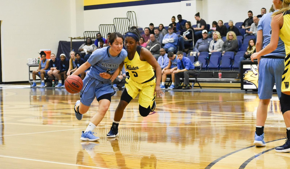 Westminster Women's Basketball Shows Toughness, but Falls in Classic Matchup Against Webster
