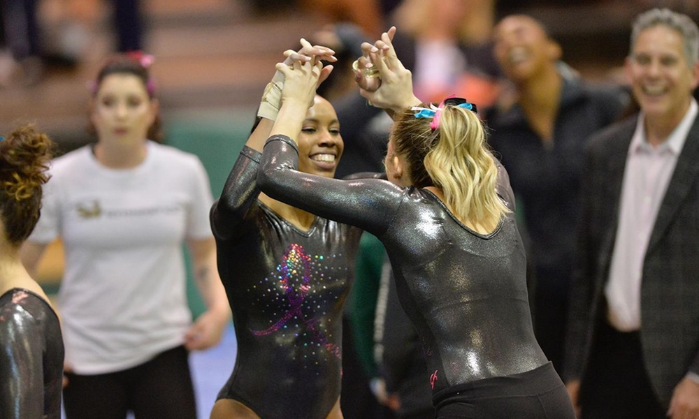 GYMNASTICS HEADS BACK TO THE ROAD TO TAKE ON NO. 14 BOISE STATE ON FRIDAY