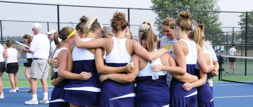 Women's Tennis Improves to 2-0 in HCAC Play with Home Win over Defiance