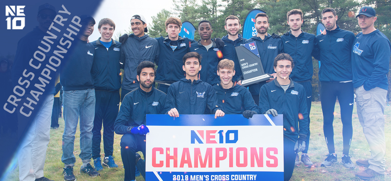Embrace the Championship: SCSU Men Win First-Ever NE10 Cross Country Title