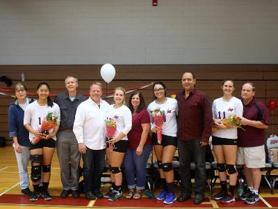 Women's Volleyball: Mustangs honor second year players