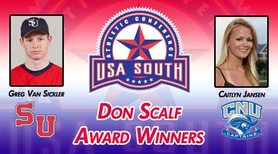 USA South Announces 2011 Don Scalf Award Winners