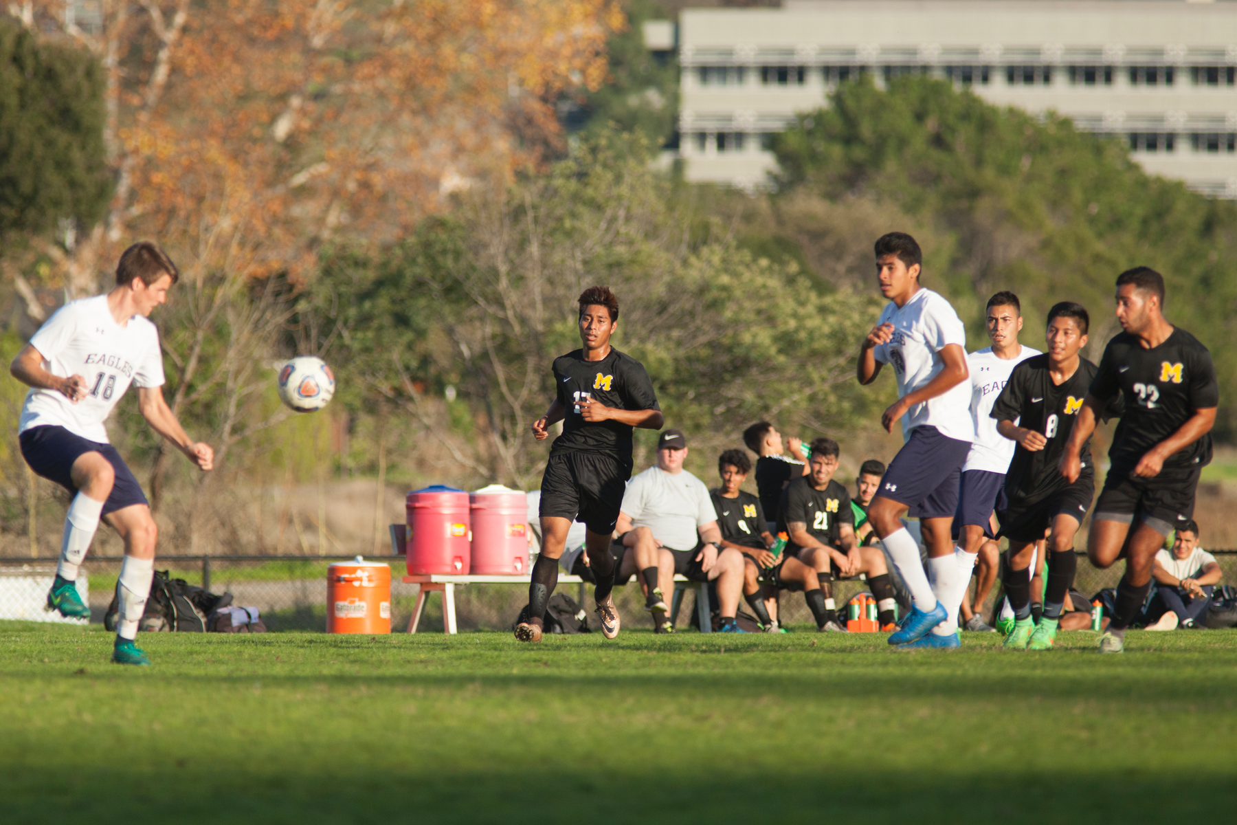 COM Men's Soccer Grabs Point At Monterey Peninsula College