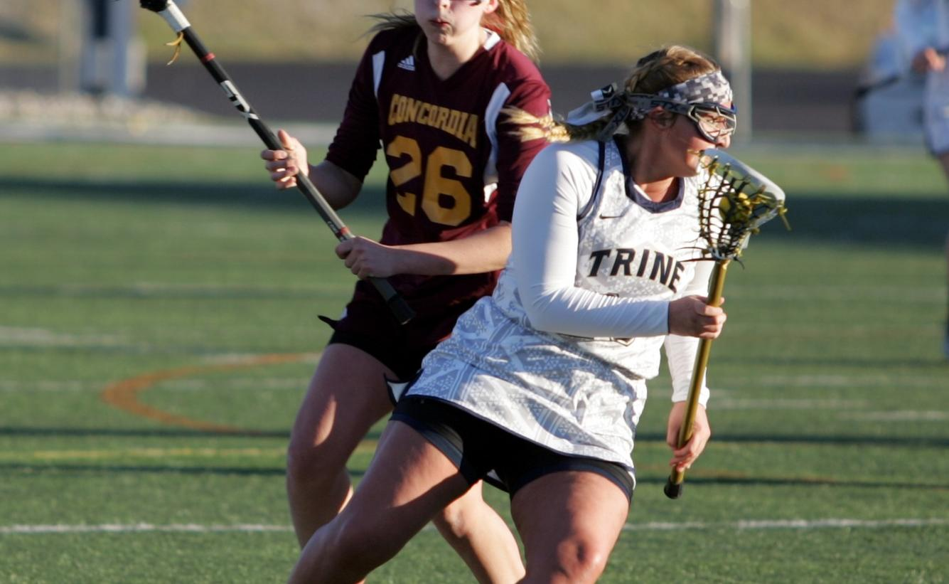 Rosekrans and Gallego Net Hat Tricks as Adrian Defeats Women's Lacrosse