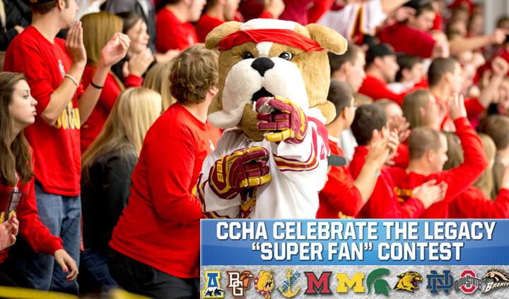 CCHA & FS Detroit Announce CCHA Super Fan Contest