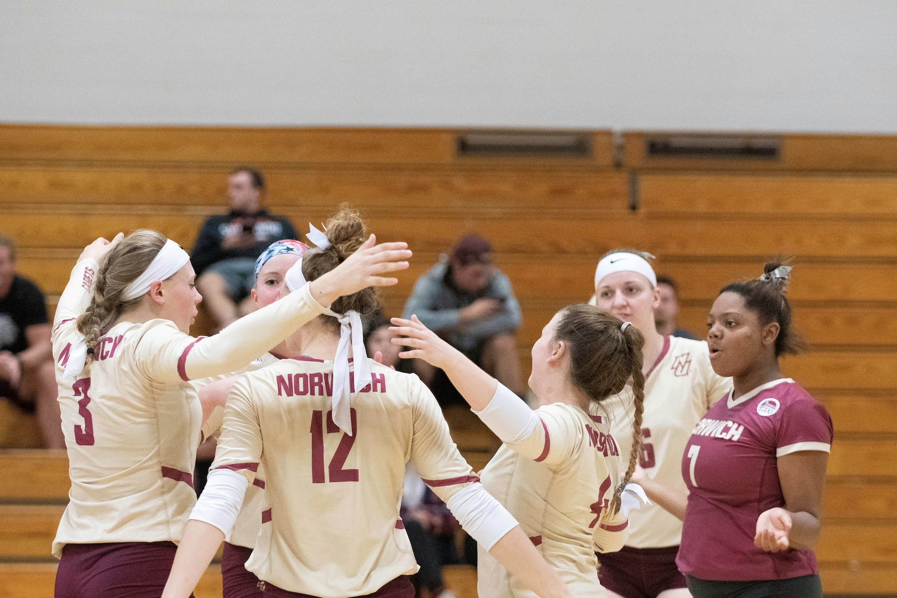Volleyball: Lasers shoot past Cadets, 3-1