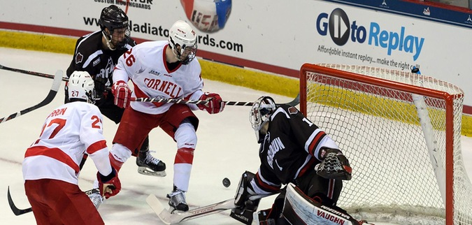 Brown falls to Cornell in ECAC Hockey Semifinals