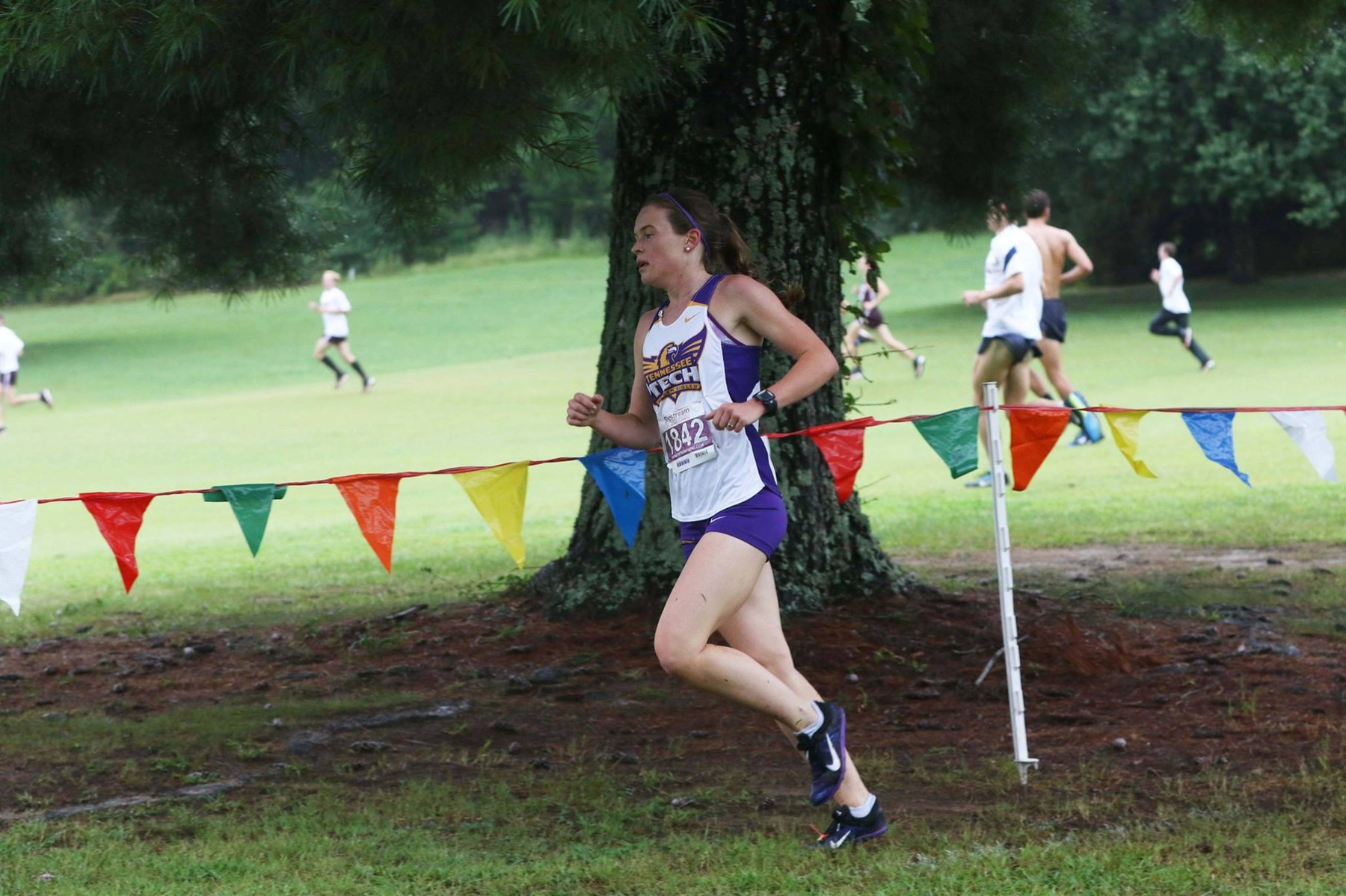 Tech women's cross country continues streak of SEC meets at Florida's Mountain Dew Invitational