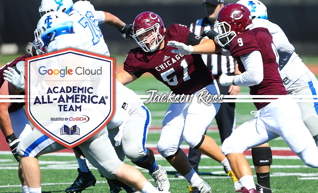 Jackson Ross Receives Google Cloud Academic All-America Status
