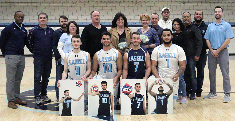 MVB: Lasell sweeps past Regis on Senior Night