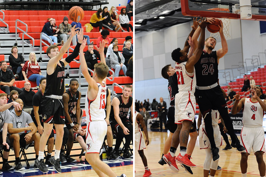 Will Leckonby '21 (left), Kyler Gregory '20 (right) (Andy Gore photos)