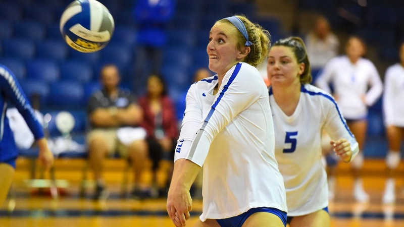 Volleyball Drops Pair of Close Matches Saturday