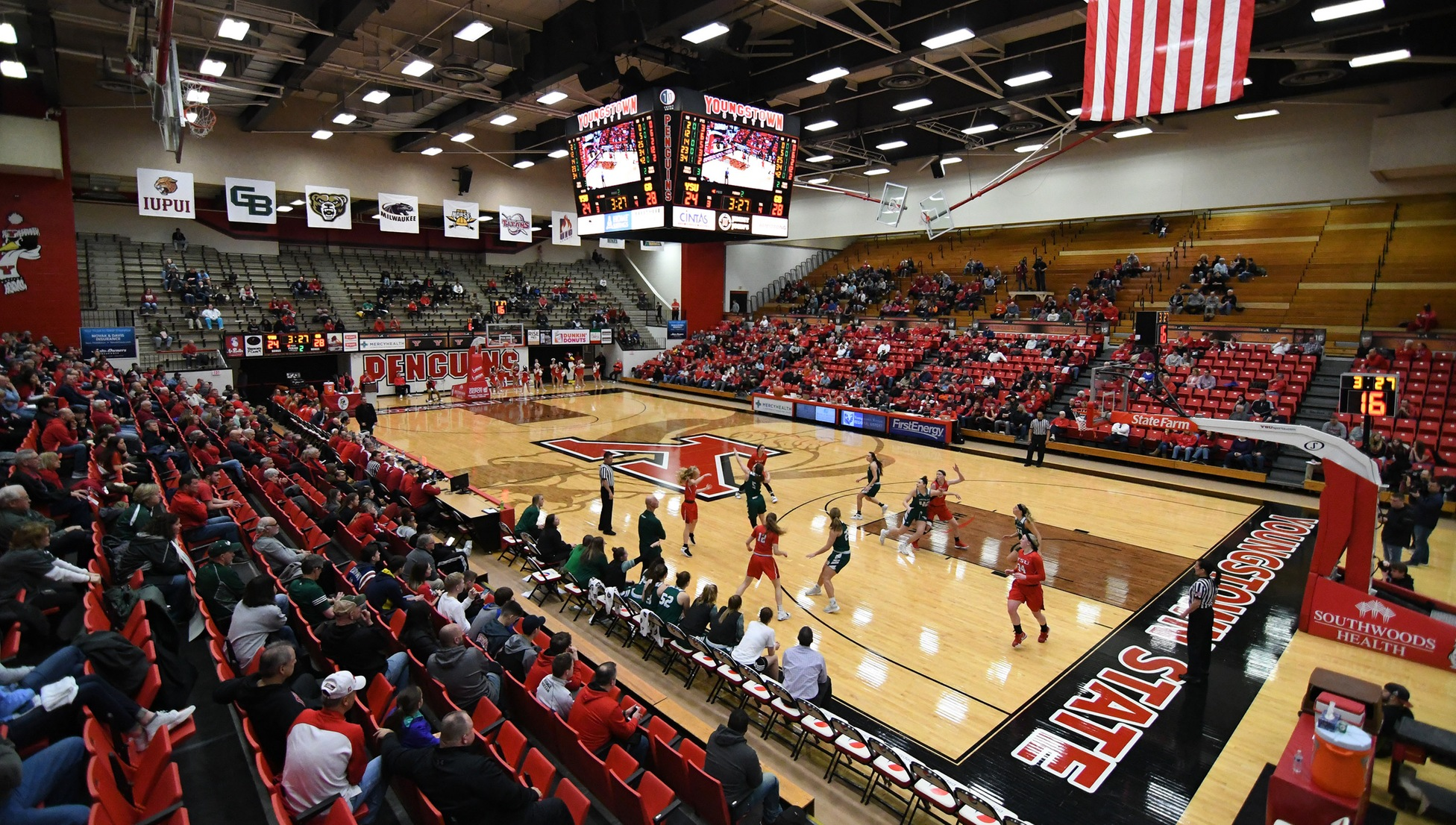YSU Women's Basketball at Beeghly Center