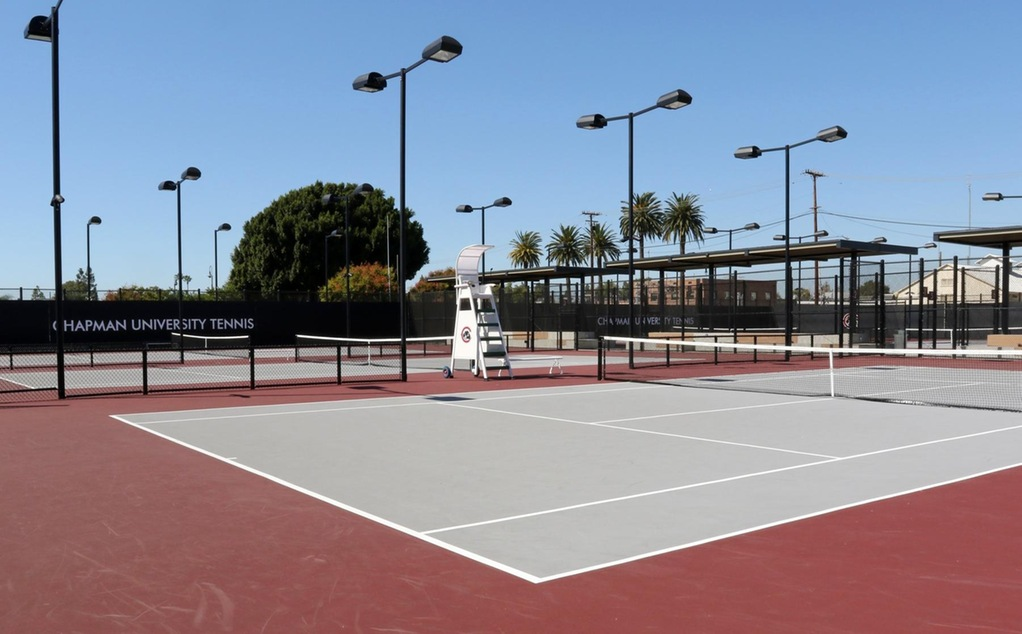 Lastinger Tennis Facility (photo by Larry Newman)