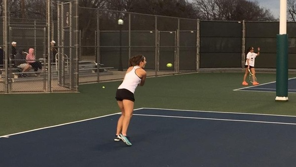 Sergiovanni Clinches; Women's Tennis Wins 5-4 over UT-Dallas