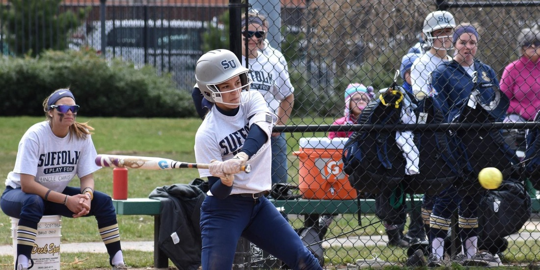 Softball Slips Past USJ, 6-4, in Game 2