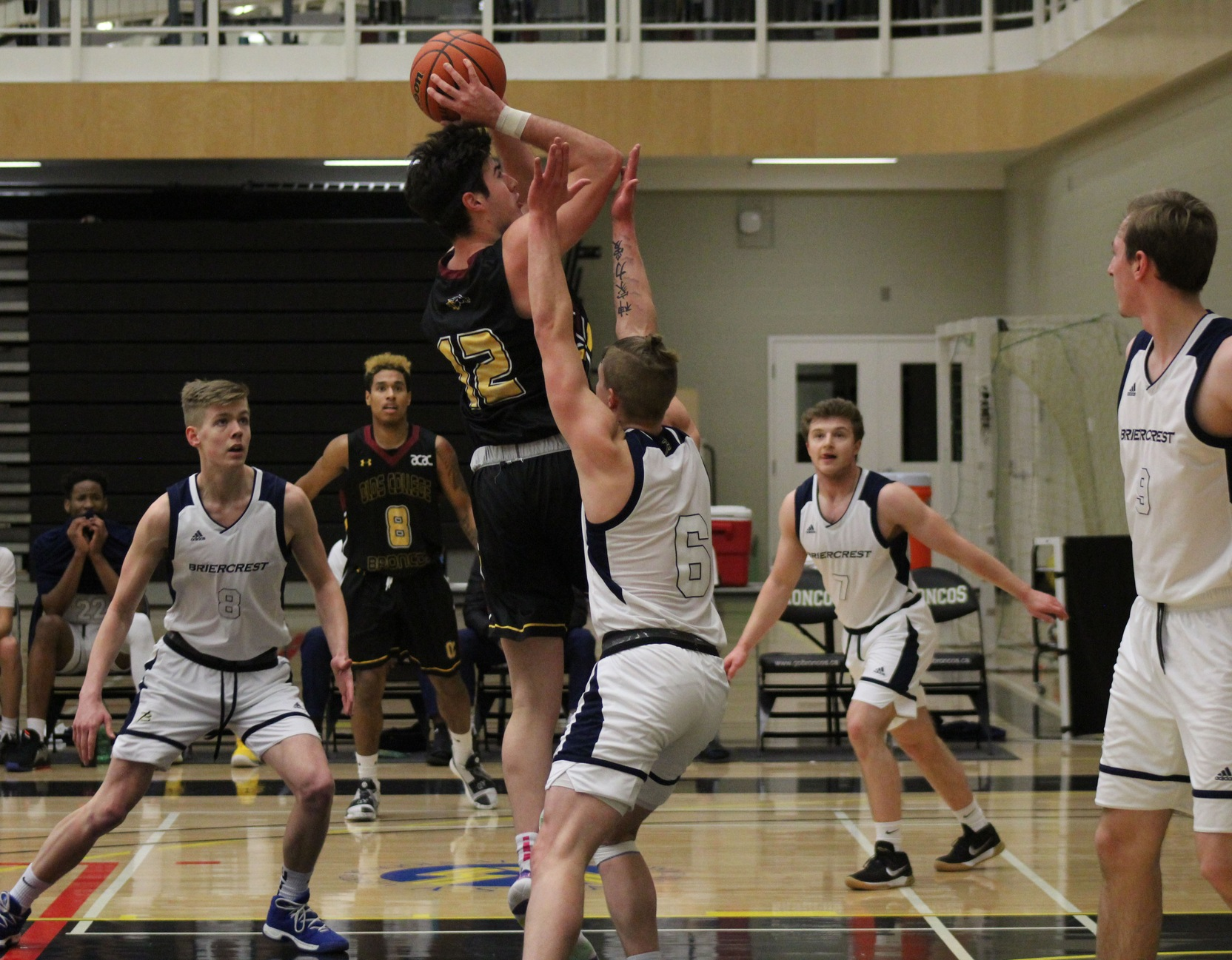 Hilman's double-double not enough to stop Briercrest